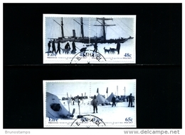 IRELAND/EIRE - 2004  SHACKLETON'S ANTARCTIC EXPEDITION  SET  FINE USED - 1949-... Repubblica D'Irlanda
