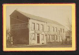 Bazeilles La Dernière Cartouche - Photo Cartonnée Guerre De 1870  (No CP) Sedan Ardennes - Bien Lire Descriptif - - Sedan