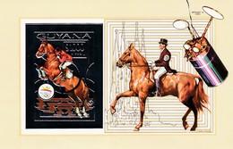Guyana Hb Michel 207B Y 208B SIN DENTAR - Ete 1992: Barcelone