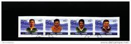 IRELAND/EIRE - 2002  HALL OF FAME  STRIP  FINE USED - 1949-... Repubblica D'Irlanda