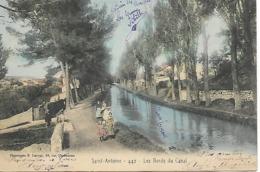 13 - Environs De Marseille -SAINT - ANTOINE - 442 - LES BORDS DU CANAL - - Quartiers Nord, Le Merlan, Saint Antoine