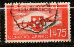 PORTUGAL  P Aérienne 1,75€ Vermillon 1937-41  N° 2 - Poste Aérienne