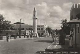 CPSM   SOMALIE MOGADISCIO CORSO VITTORIO EMANUELE - Somalie