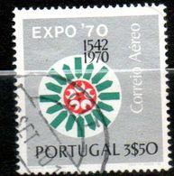 PORTUGAL  P Aérienne  Exposition Osaka 1970  N°11 - Poste Aérienne