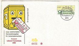 ALEMANIA FDC ATM LÜBECK TRAVEMÜNDE - [7] República Federal