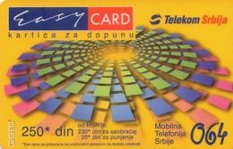 TARJETA TELEFONICA DE SERBIA, PREPAGO (301) - Yugoslavia
