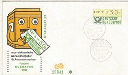 ALEMANIA FDC ATM CUXHAVEN - [7] República Federal