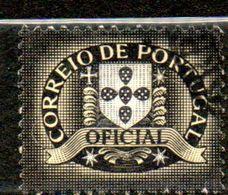 PORTUGAL  Service 1€ Noir 1952  N°2 - Port Dû (Taxe)