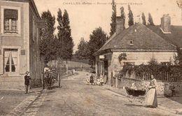 72 Challes , Route De Parigné L'évêque - Francia
