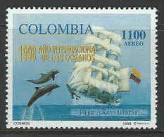 Colombia 1998 SC C906 MNH Ships Flags Dolphins - Colombia