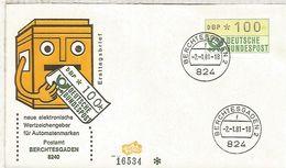 ALEMANIA FDC ATM BERCHTESGADEN - [7] República Federal