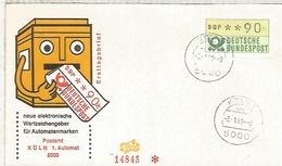 ALEMANIA FDC ATM KOLN 1 - [7] República Federal
