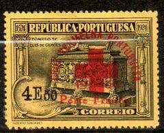 PORTUGAL  Franchise 4,50€ Noir Sur Jaune 1936  N°102 - Franchise