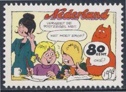 Nederland Netherlands Pays Bas 1998 Mi 1678 ** Catootje + Jeroen - Jan, Jans En De Kinderen - Jan Kruis - Comic Strip - Andere