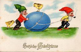 GNOMI-GNOMES-LUTINS-NAINS-ZWERGE - PASQUA - EASTER - PAQUES - OSTERN - N 234 - Pâques