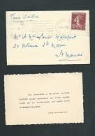 Paris - Le 11/05/1928 - F.P. Naissance De Pierre Marie Finot  Lh14206 - Nacimiento & Bautizo