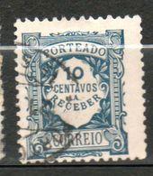 PORTUGAL  Taxe 10c Bleu 1915  N° 27 - Port Dû (Taxe)