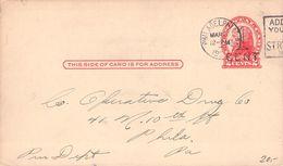 USA POSTCARD 1c WATERMAN#S FOUNTAIN PEN - Enteros Postales