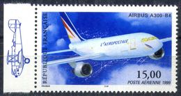 FRANCE PA N° 63a AIRBUS A300-B4 NEUF ** BDF GAUCHE - Poste Aérienne