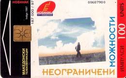 TARJETA TELEFONICA DE MACEDONIA. (001) - Macedonia