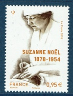France, Suzanne Noël, French Plastic Surgeon, 2018, MNH VF - Unused Stamps