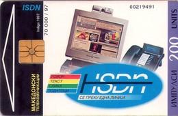 TARJETA TELEFONICA DE MACEDONIA. (003) - Macedonia