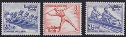 Deutsches Reich    .   Michel     .     600/602     .       **       .      Postfrisch   .    /    .     MNH - Ungebraucht