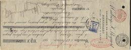 PERFORE PERFIN - 25c Pellens Perforé N.F. Sur Traite LIEGE 1913 + Charbonnages Est De Liège Beyne-Heusay (961) - 1909-34
