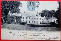 Cpa 58 POISEUX Chateau De La Belouze - France