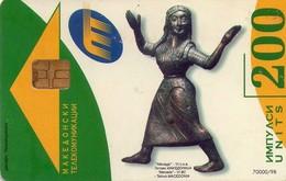 TARJETA TELEFONICA DE MACEDONIA. (006) - Macedonia