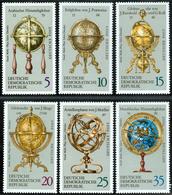 Erd- Und Himmelsgloben - DDR 1972 -  Michel # 1792-1797 MNH ** - Geographie
