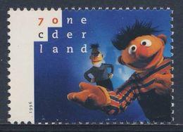 Nederland Netherlands Pays Bas 1996 Mi 1588 ** Bert + Ernie, Sesame Street - Childrens Television Programme/ Sesamstraat - Acteurs