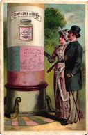 0116 (Reklameplakate) (affiches De REKLAME) Liebig 116 Set Complete Litho Chromos German Edition Deutsche SERIE - Liebig