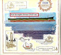 Em2.r- Baptême Pétrolier ESSO PROVENCE Chantiers De L'Atlantique St Nazaire Esso 1971 - Maritime & Navigational