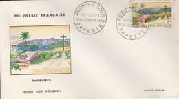 "1964- "" Marquises"" Parfait Etat - FDC"