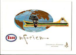 Em2.t- Baptême Pétrolier ESSO AFRICA Chantiers De L'Atlantique St Nazaire 1975 - Maritime & Navigational