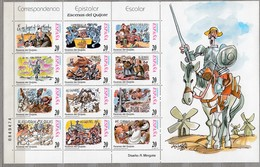 SPAIN ESPAGNE 1998 2 Sheets MNH(**) Mi 3398-3421 #22038 - 1931-Aujourd'hui: II. République - ....Juan Carlos I