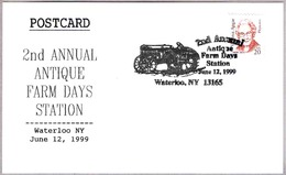 2nd Annual ANTIQUE FARM DAYS  - TRACTOR. Waterloo NY 1999 - Agricultura