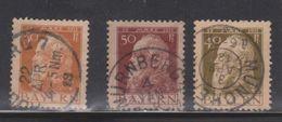 BARVARIA Scott # 82-4 Used - CDS Cancels - Bavaria