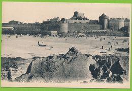 SAINT-MALO - La Plage Et Le Château - Saint Malo