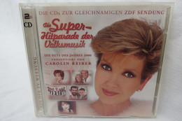 """2 CDs """"Die Super-Hitparade Der Volksmusik"""" Präsentiert Von Carolin Reiber - Música & Instrumentos"""