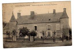 CPA Criqueville Calvados 14 Château De Menneville M. Chazeray Propriétaire éditeur Colleville - France