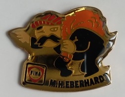 Pin's - Carburant - FINA - M.H. EBERHARDT - - Fuels