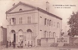 SAINT SYMPHORIEN SUR SAONE - La Mairie Et Le Monument - France