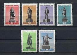 URSS505) 1959 - Monumenti E Celebrità Russe  - Serie Cpl 6 Val. MLH - 1923-1991 URSS