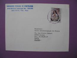 Lettre Associacion Peruana De Ornitologia    Pour La France - Pérou