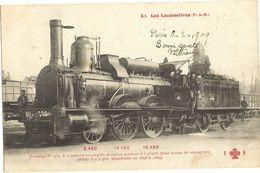LOCOMOTIVES  -    Machine   922  23 - Postcards