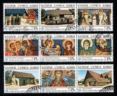 CYPRUS 1987 - Full Set In Stripe Used - Chypre (République)