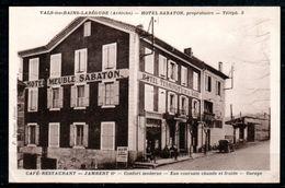 CP07-01 : Dept 07 (Ardèche) VALS-les Bains-LABEGUDE Hotel SABATON - Vals Les Bains