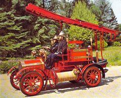 69 - AUTO-POMPE MIEUSSET 1914 Musée Des Sapeurs Pompiers Communauté Urbaine De Lyon - Lyon